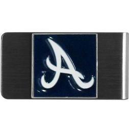 Atlanta Braves MLB Stainless Steel Money Clip