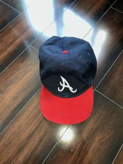 Atlanta Braves 47 Brand MLB Youth Clean Up Hat