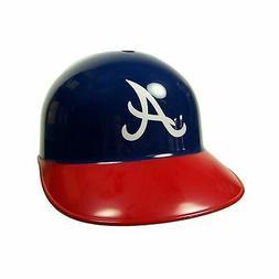 Rawlings Atlanta Braves Navy Blue-Red Replica Batting Helmet