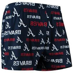 Concepts Sport Atlanta Braves Navy Midfield Boxers