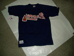 Atlanta Braves NL East buttondown or pullover jersey license
