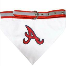atlanta braves pet collar bandana