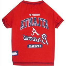 Atlanta Braves Pet T-Shirt