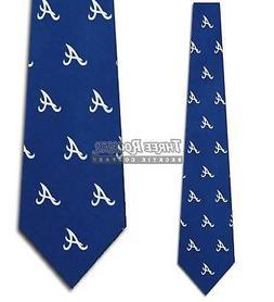 Atlanta Braves Prep Silk Necktie