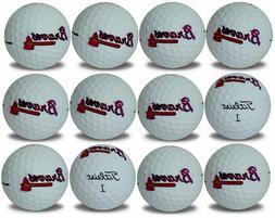 atlanta braves prov1 refinished mlb golf balls