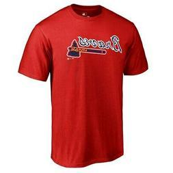 Fanatics Branded Atlanta Braves Red Team Wordmark T-Shirt