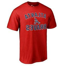 Atlanta Braves Red Victory Arch T-Shirt