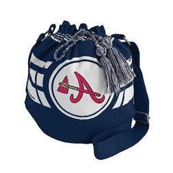 Atlanta Braves Ripple Drawstring Bucket Style Bag  MLB Laund
