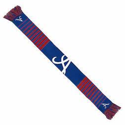 Atlanta Braves Scarf Knit Winter Neck NEW - Big Logo - Team