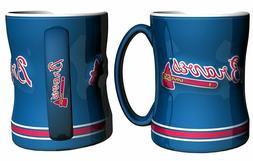 Atlanta Braves Coffee Mug - 14oz Sculpted Relief