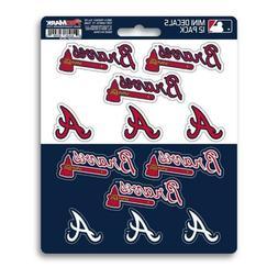 Atlanta Braves - Set Of 12 Sticker Sheet