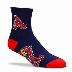 Atlanta Braves Socks 501 Quarter Crew