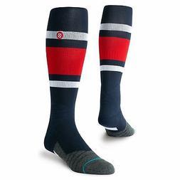 Atlanta Braves Stance Stripe Diamond Pro Over the Calf Socks