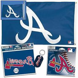 Atlanta Braves WinCraft Team Logo Ultimate Fan Pack