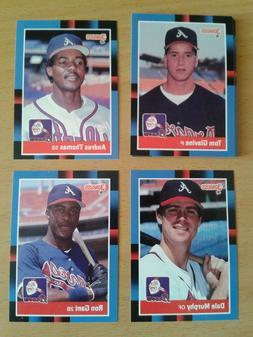 Atlanta Braves Team Sets 1981-1991 You Pick!