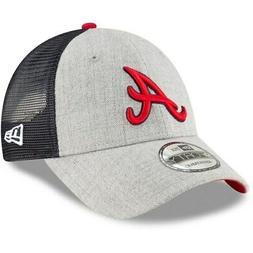 Atlanta Braves New Era Turn Trucker 9FORTY Adjustable Snapba