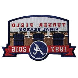 Atlanta Braves Turner Field Final Season 1997-2016 Jersey Sl