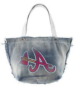 Atlanta Braves Vintage Tote Purse  MLB Clutch Bag Backpack W