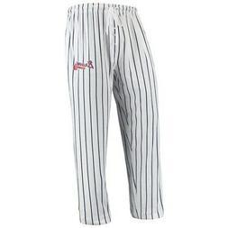 Atlanta Braves Concepts Sport Vigor Lounge Pant - White/Navy