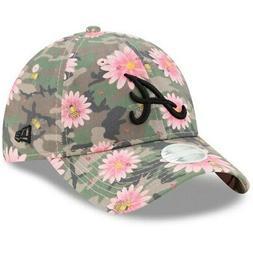 Atlanta Braves New Era Women's Floral Morning 9TWENTY Adjust