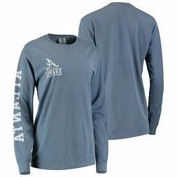 Atlanta Braves Soft as a Grape Women's Pigment Dye Comfort C