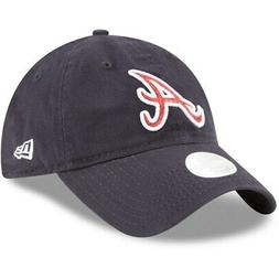 Atlanta Braves New Era Women's Team Glisten 9TWENTY Adjustab