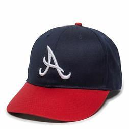 Atlanta Braves YOUTH Baseball Cap MLB Adjustable Hat Outdoor