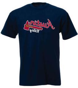 """Austin Riley Atlanta Braves """"Logo"""" T-Shirt"""