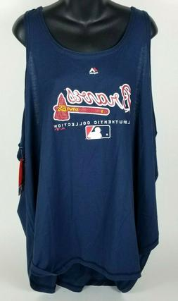 Authentic MLB Atlanta Braves Womens Size 4X Plus Size Baseba