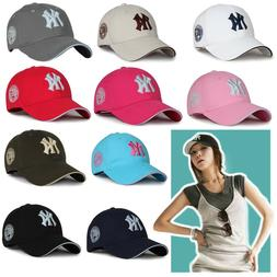 black baseball hat new women bboy yankees