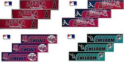 Choose Your Team MLB Set of 3 Pack Stickers New Bumper Sign