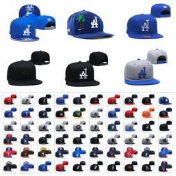 Fashion Embroidered MLB LBaseball Teams Logo Adjustable Snap