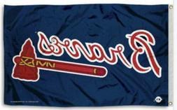 FLAG 3X5 Atlanta Braves Baseball New Fast USA Shipping