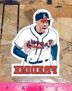 Freddie Freeman Atlanta Braves Fan Sticker Decal Bumper Car