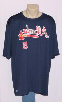 Freddie Freeman Atlanta Braves Jersey Performance T-Shirt 2X