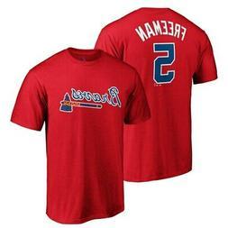 Freddie Freeman Atlanta Braves Majestic Official Player Name