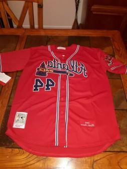 Hank Aaron 2XL Atlanta Braves Jersey