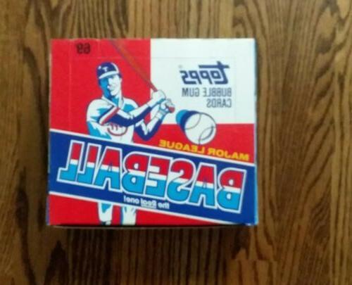 1988 topps baseball cello box 24 packs