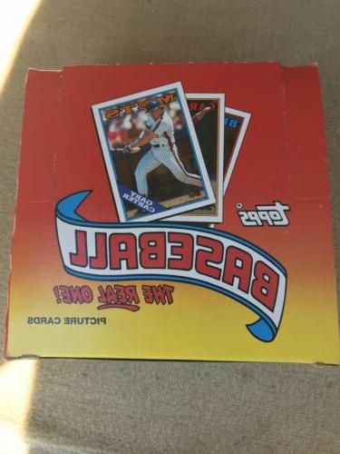 1988 TOPPS BOX. 24 Packs Cards