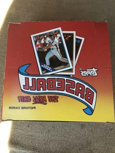 1988 topps jumbo box 24 packs