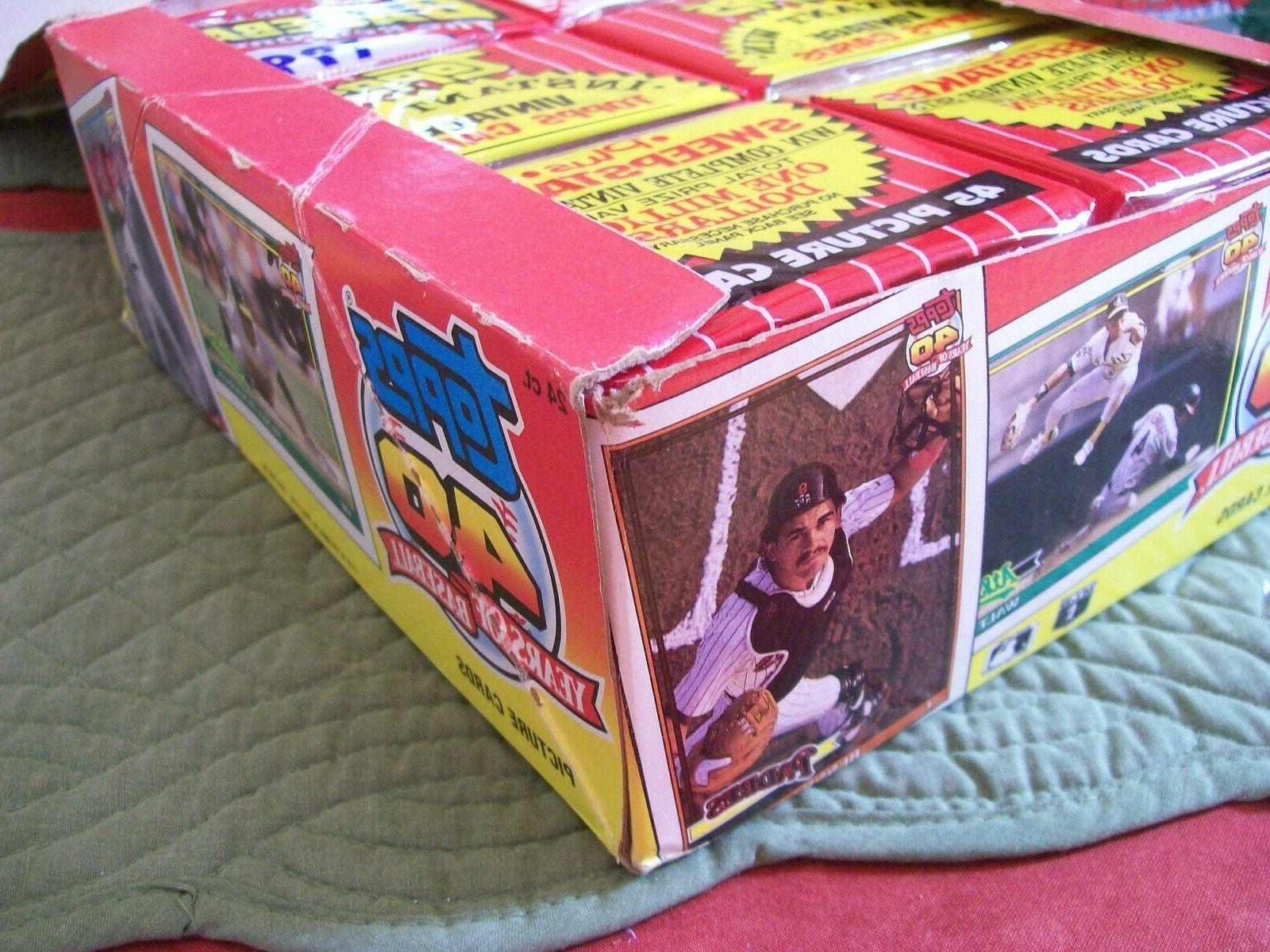 1991 Topps Basball Rack Pack - Count