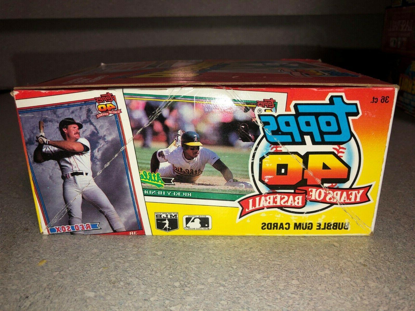 1991 Baseball of 36 Wax Fresh a