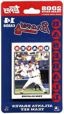 2008 Atlanta Braves Topps MLB Factory Baseball Cards Team Se