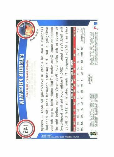 2011 #145 Freddie Card