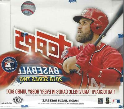 2018 topps series 2 baseball sealed 10