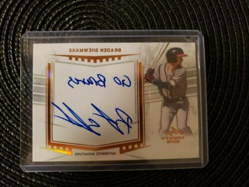 2019 Leaf Braves Lot Bryce Auto, Shewmake,
