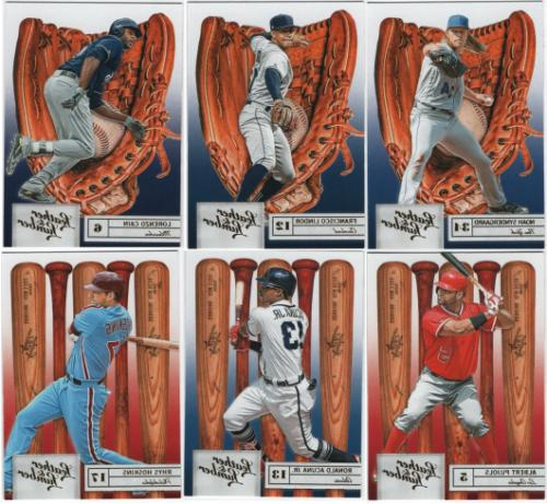 2019 panini leather and lumber embossed parallel