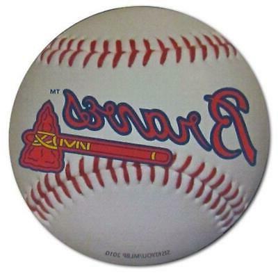 atlanta braves 3 inch baseball magnet new