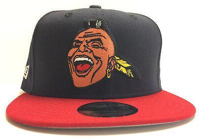 atlanta braves 9fifty snapback hat screaming chief