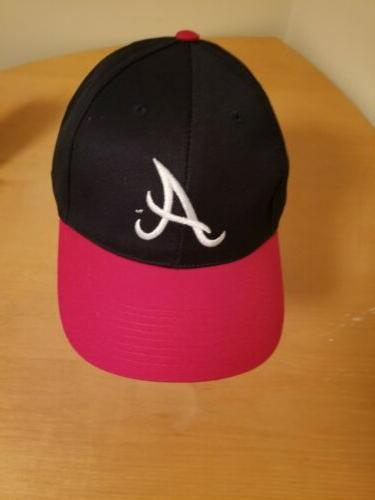 atlanta braves baseball cap with napa logo